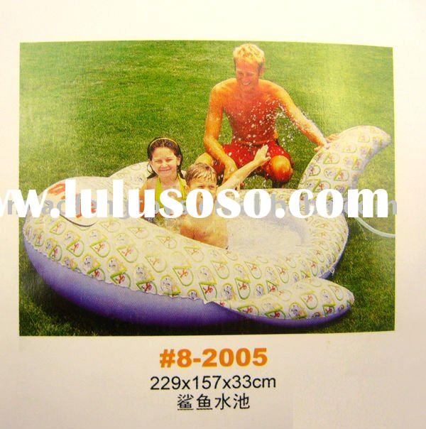 Shark Model Baby Inflatable Swimming Pool