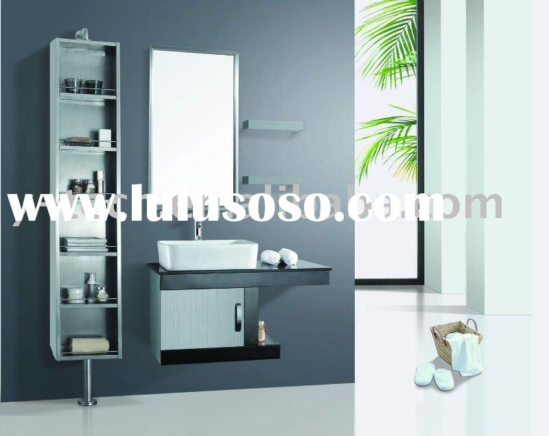Side cabinet Stainless steel bathroom cabinet in furniture, SW-1175