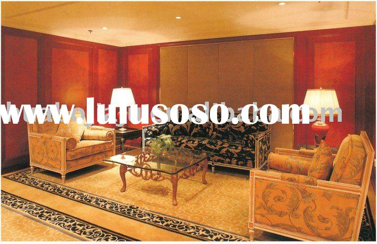 Sofa(Malaysia rubber wood upholstery fabric HB-4705)