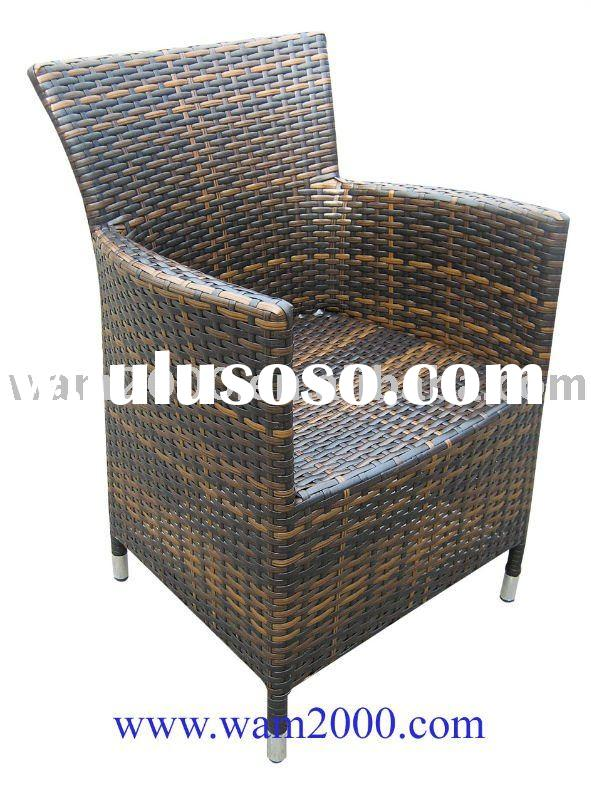 Stackable rattan chair/pe Wicker chair/outdoor rattan chair/Garden furniture/patio furniture