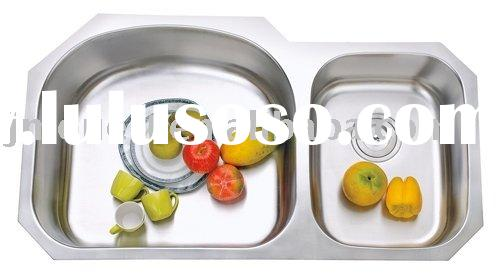Stainless Steel Double Bowl Undermount Kitchen Sink
