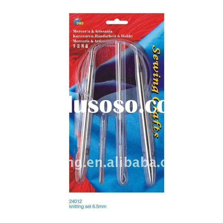 Stainless steel circular knitting needles(24012)