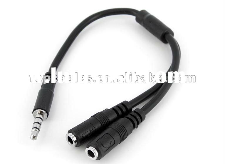 Stereo Audio Cable - 3.5mm Male to 2x RCA Female