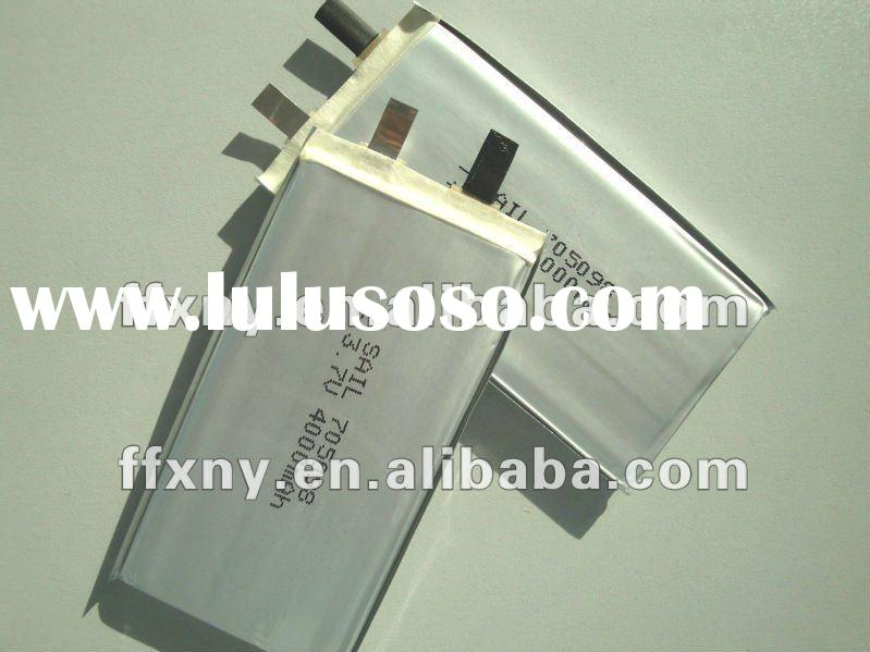 Supply 4Ah 3.7V Lithium Ion Polymer Battery 705098