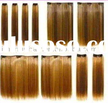 Tangle Free - Stock Remy Clip Hair weaves /Clip In Hair extensions