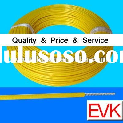 Teflon coated silver plated copper wire