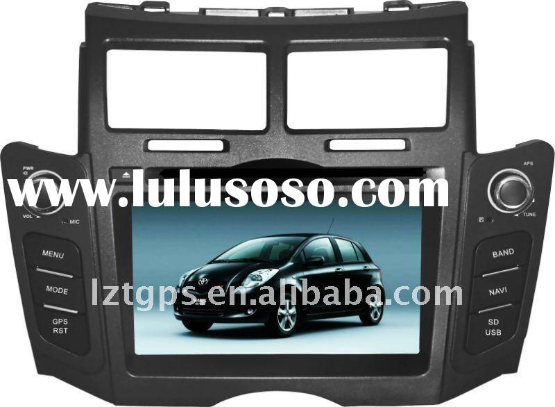 (Manufacturer, Factory) 2 din 7 inch car dvd player for toyota yaris with bluetooth usb sd radio tv+