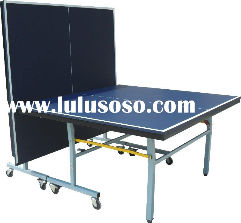 (SJ-208)Single Folding Table Tennis table,Movable Table Tennis Equipment,Facilities of PP Table