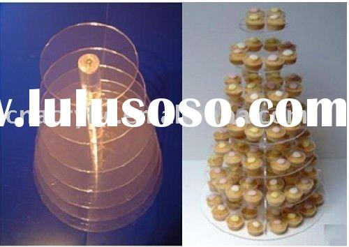 acrylic chocolate display rack,candy tower, chocolate display stand