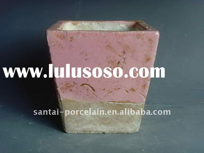antique terra cotta flower pots,planters