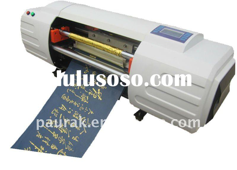 automatic Digital hot gold foil stamping printing machine