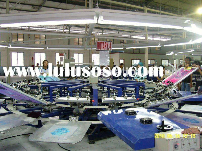 automatic textile Screen printing machine&T-shirt screen printing machine