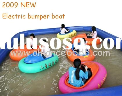 battery bumper boat