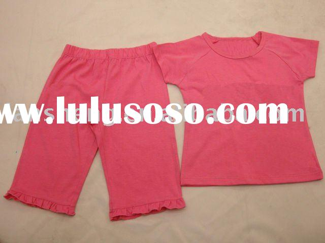 cute baby girls clothing sets,baby garment,baby clothes