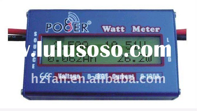 for electric cars/motors (max 60v ) ! watt meter current and voltage checker