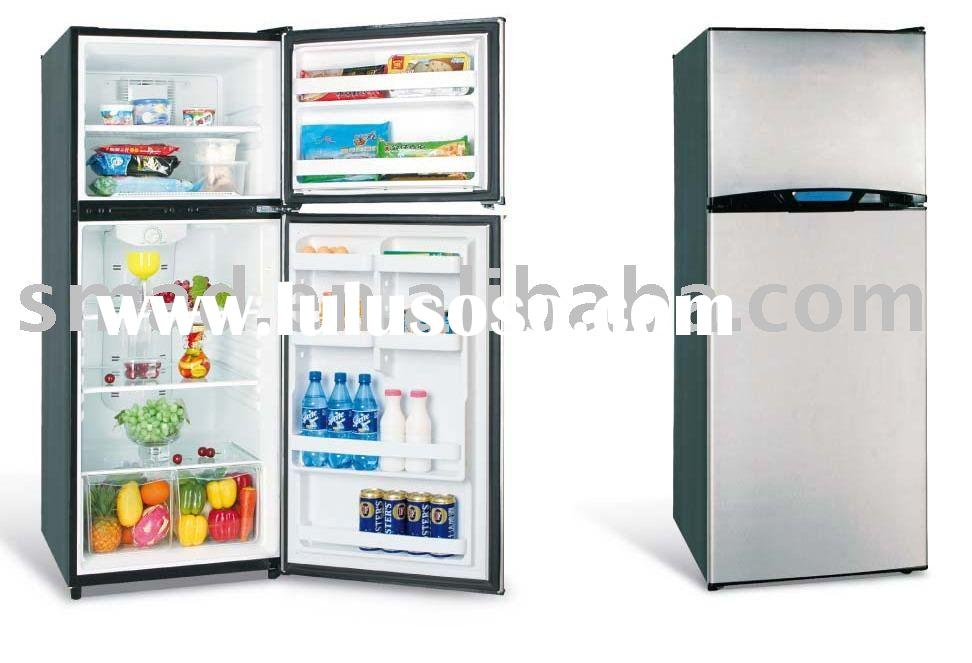 frost free refrigerator with up freezer