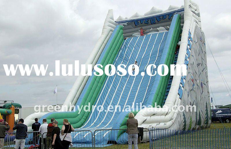 funny inflatable titanic water slide for rent