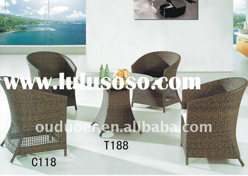 garden furniture round table and chair set