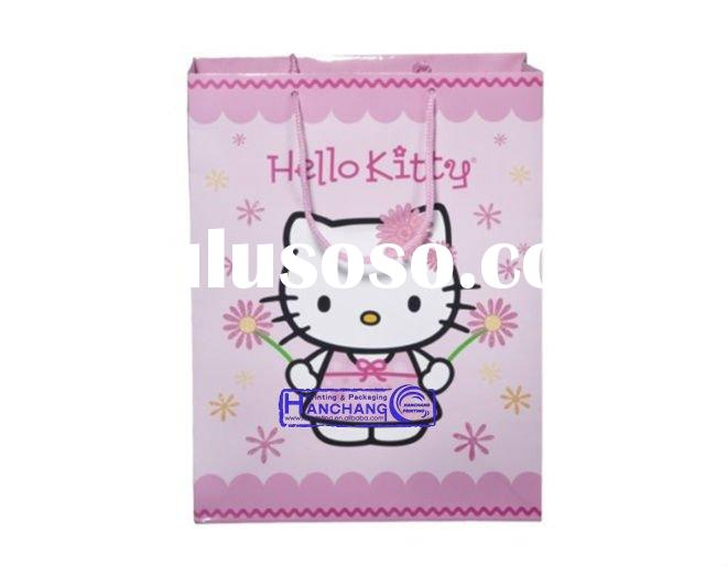 hello kitty paper bag