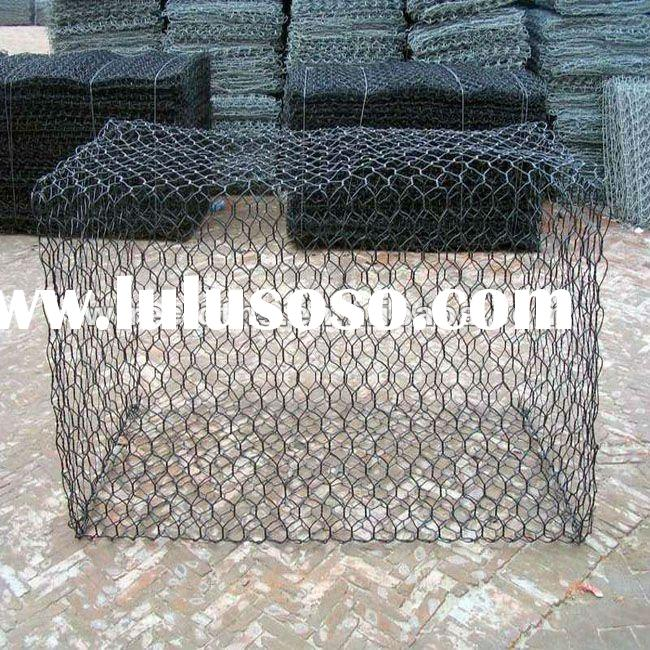 hexagonal wire mesh for stone cage netting(manufacturer)