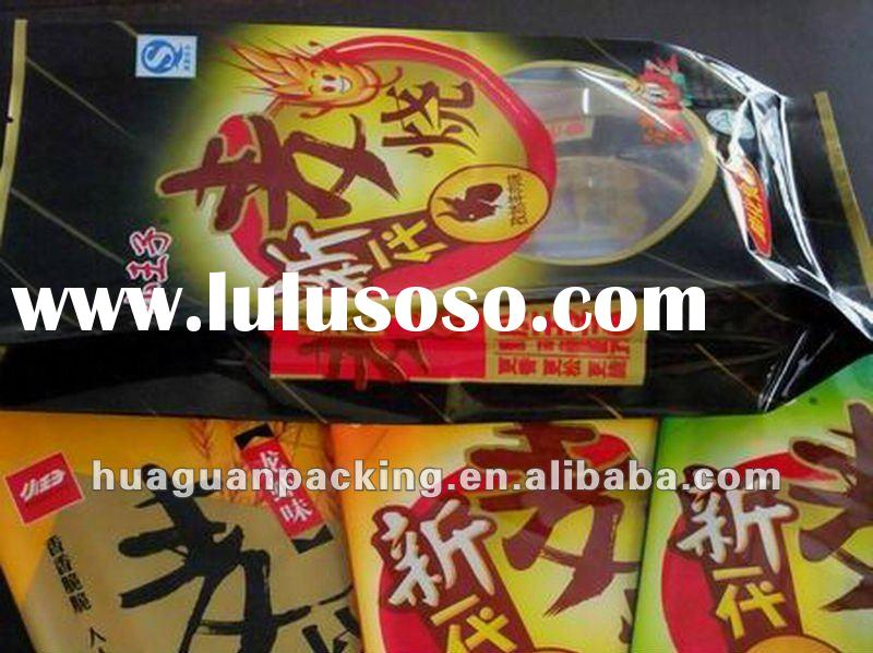 hot sale 3 plastic bags for snack packaging