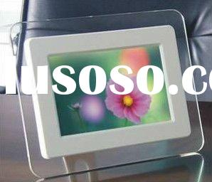 hotselling 7 inch Digital photo Frame,play picture, music, movie(Builded-in X M Flash) with best pri