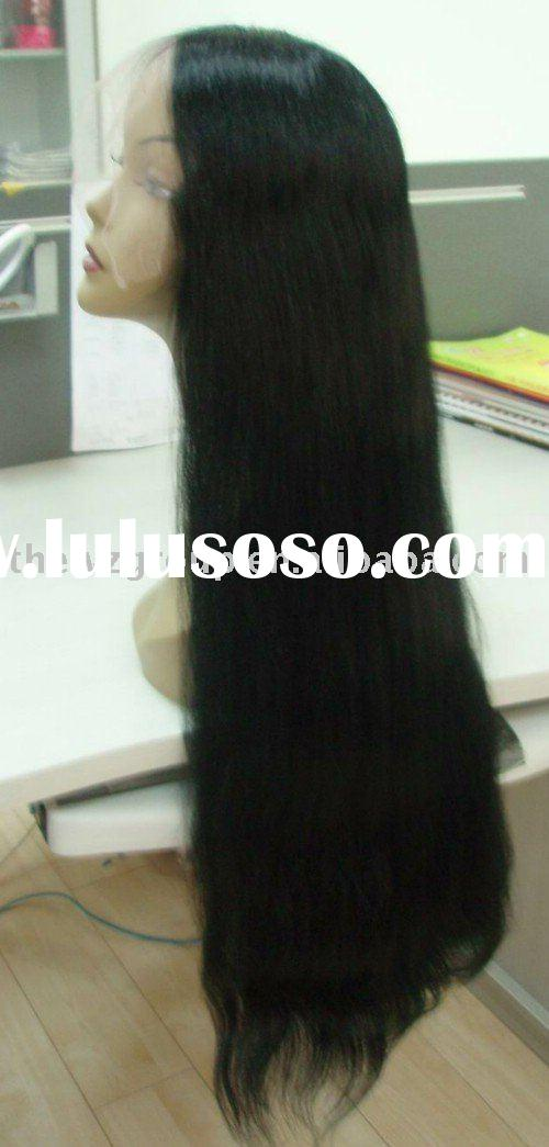 lace front wigs with baby hair for black man