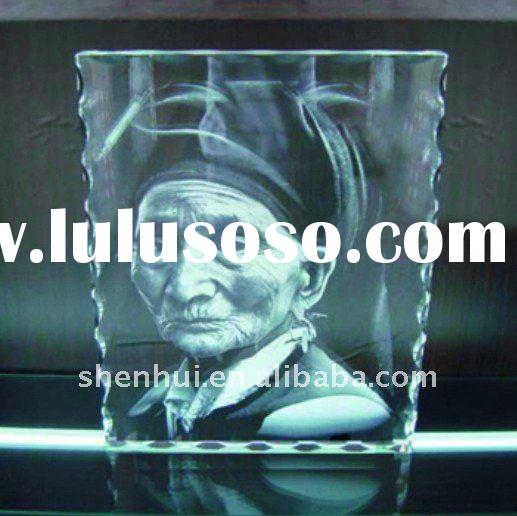 laser 3d photo crystal engraver (want agent)