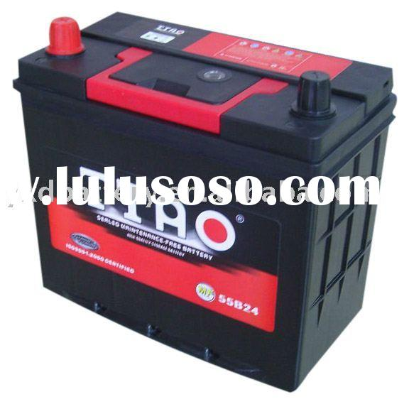 lead acid battery 12V50AH SMFauto Car Battery factory