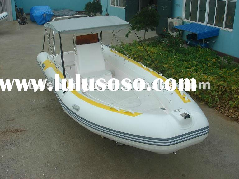 luxury yacht Hypalon material CE RIB boat with prices