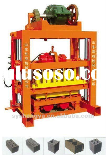 manual brick making machine price list QTJ4-40B
