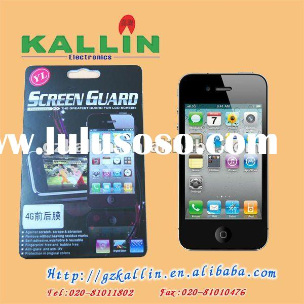 mobile phone screen protector for iphone 4gs double side