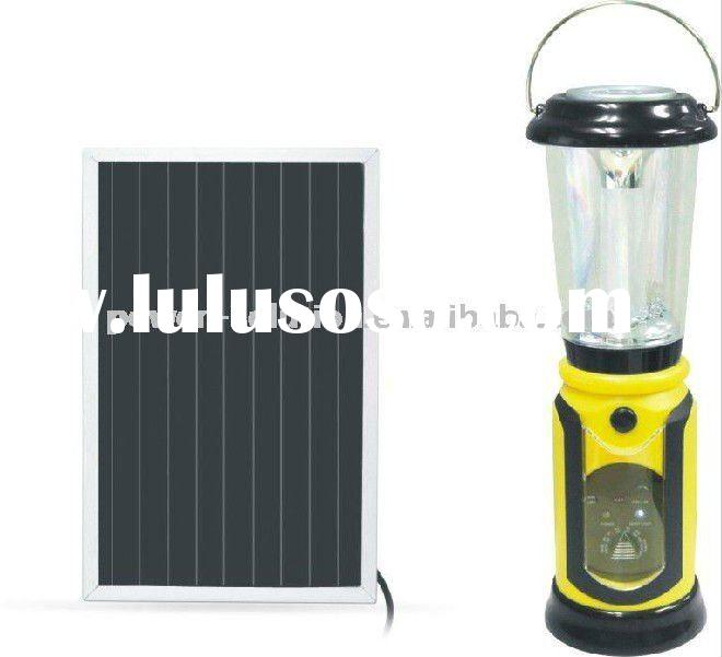 multi-function solar led dynamo lantern for camping w/FM/AM radio&mosquito repeller/mobile phone
