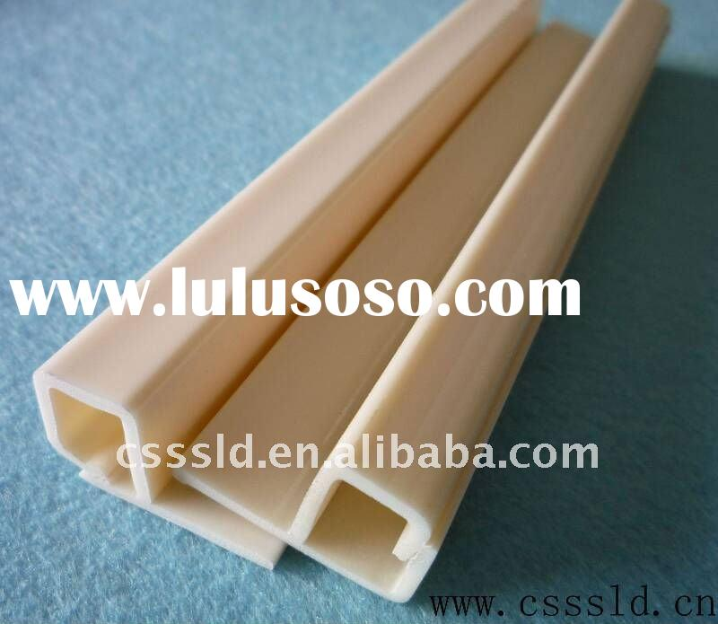 plastic ABS profile, porfile,extrusion,plastic extrusion products,anti-Collision Strip