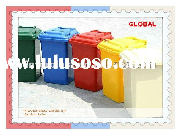 plastic hotel garbage can / plastic dustbin / plastic trash can / plastic rubbish container