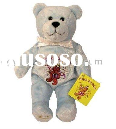 plush toy embroider logo,stuffed toy plush,teddy bear