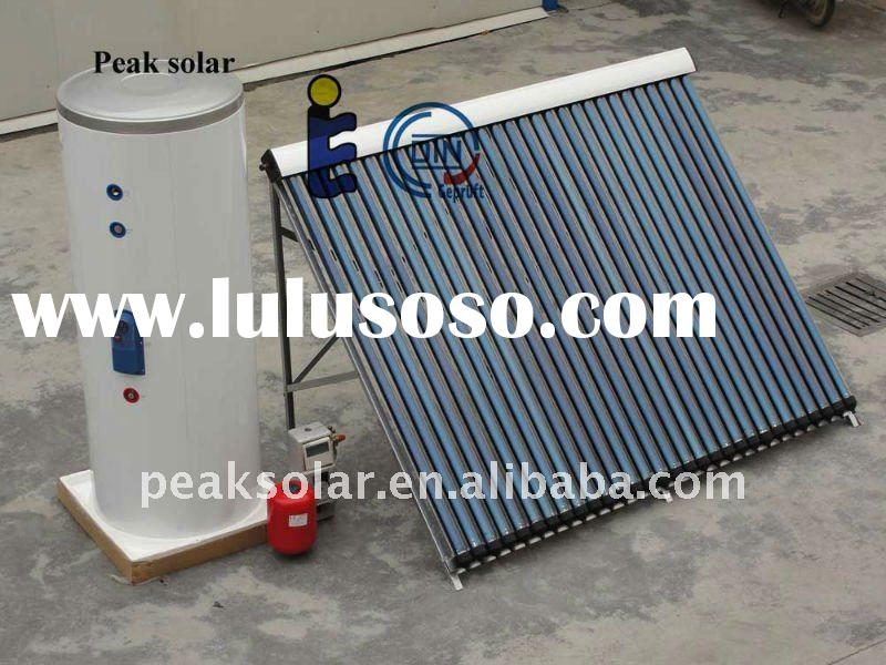 solar selective absorber coating pressurized solar water heater collector