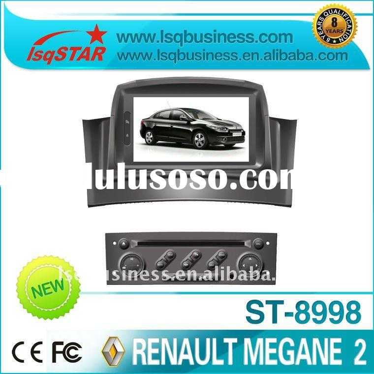 special car DVD for Renault Megane 2 with GPS, canbus, SD, USB, TV, FM, RDS, steer wheelcontrol, PIP