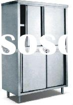 stainless steel upright storage cabinet