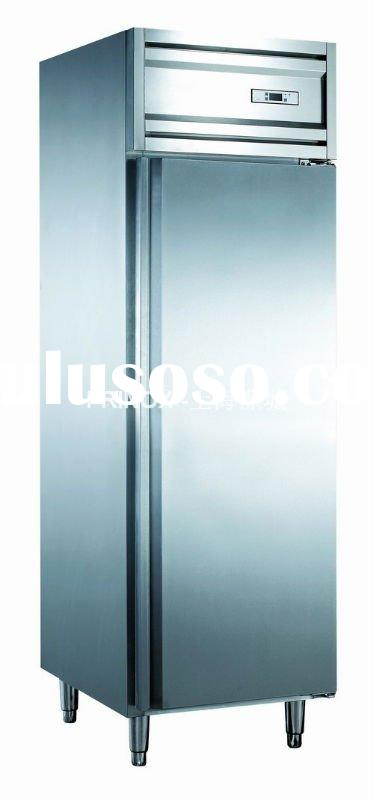 upright commercial kitchen refrigerator with 400*600 plates