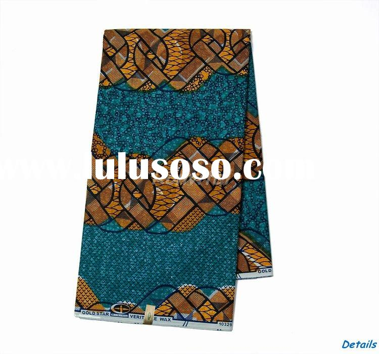 wholesale 100% cotton african wax prints fabric 014c