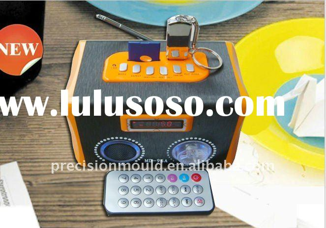 with wireless remote control speaker,portable music box speaker