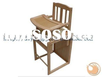 wooden Baby dining chair