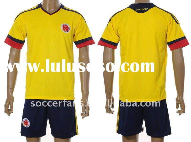 Columbia Football Shirt 11-12 Columbia Football Kits
