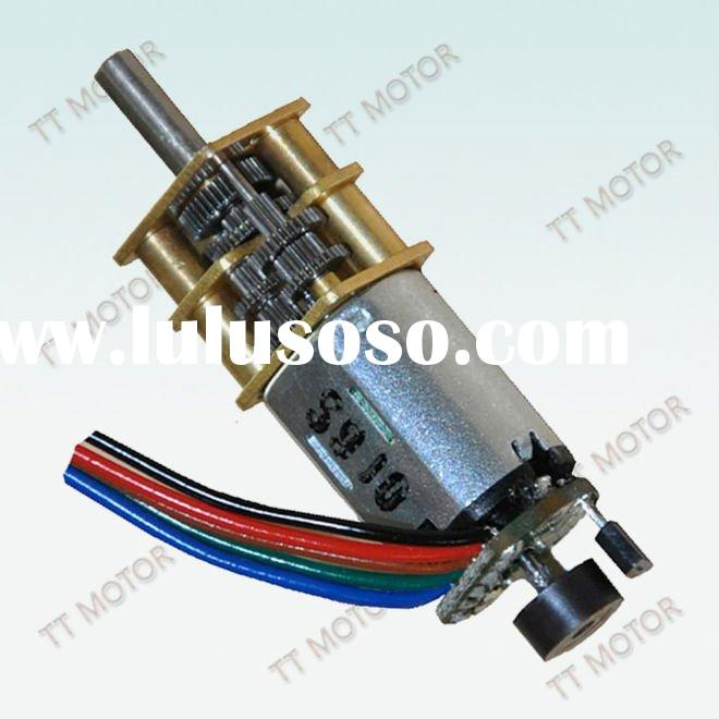 12*10mm gearbox with dc motor and Encoder