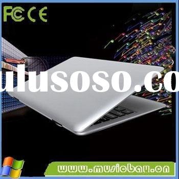 13.3inch intel atom n455 ultra slim netbook for Windows 7