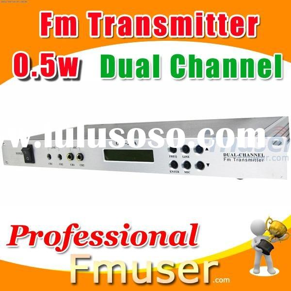 18FSN Dual Channel fm transmitter 0.5w block diagram of fm transmitter