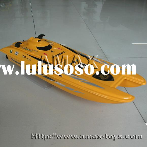 1:14 rc super powered racing boat - Predator, 102cm long, and the small version is 1:25