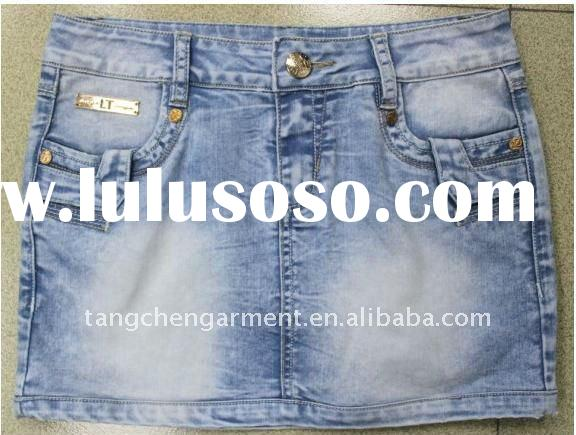2011 fashion denim skirts womens, girls in short skirts