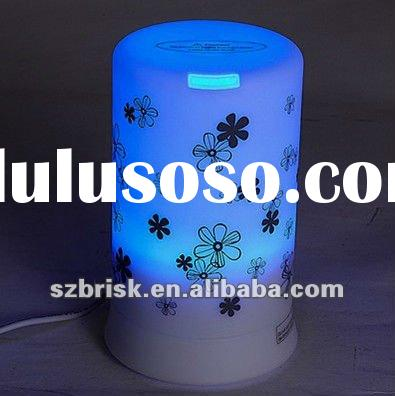 2012 Hot electric LED aroma oil humidifier for home